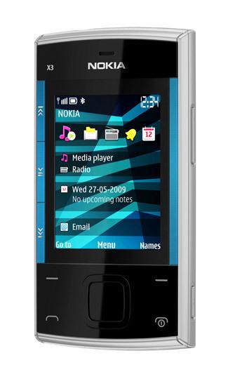 Nokia X3, disponible en España por 115 euros