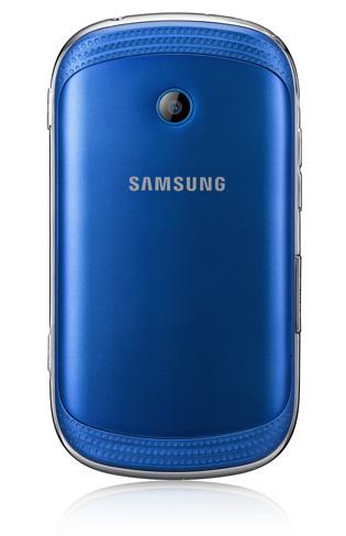 Samsung Galaxy Music Trasera