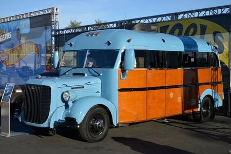 SEMA Show 2018 bus escolar