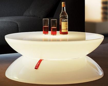 Lounge Table: elegante mesa luminosa