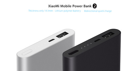 Oferta Flash: Batería portátil Xiaomi Power Bank 2 por 15,39 euros