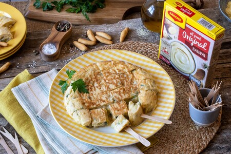 Tortilla De Patata Y Calabacin Maggi