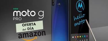 Sólo hoy, y en exclusiva para los usuarios Prime, Amazon te deja el primer smartphone con stylus de Motorola, el Moto G Pro, por 59 euros menos