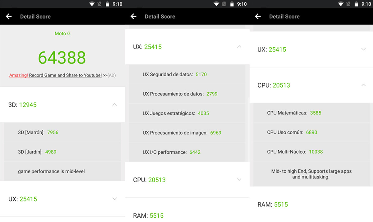 Foto de Moto G5 Plus: Benchmarks (1/13)