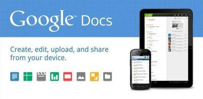 Google Docs, Sheets y Slides se actualizan con mejoras de edición