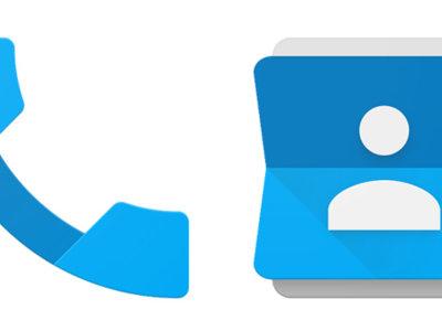 Las aplicaciones Teléfono y Contactos de Google se actualizan a través del Play Store