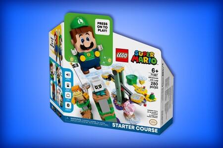 Ya se puede reservar el nuevo LEGO Super Mario de Luigi en Amazon México: incluye figura de Yoshi rosa y se paga hasta agosto