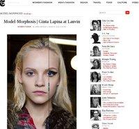 Model-morphosis o cómo cambian las modelos con el maquillaje