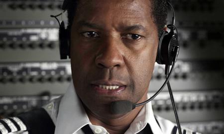 'El vuelo', Denzel Washington por todo lo alto