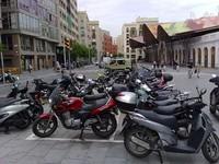 La moto desplaza al automóvil en Barcelona