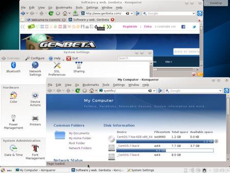 Centos 7 KDE
