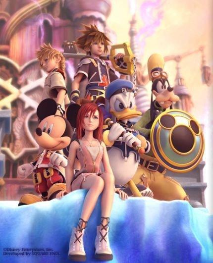 Kingdom Hearts II ya tiene fecha de salida europea