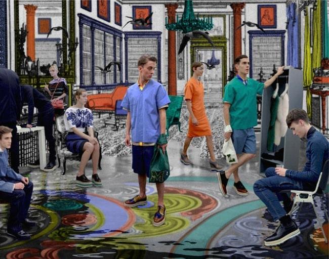 Foto de La fantasía de Prada junto a AMO en el lookbook Primavera-Verano 2011 (16/21)