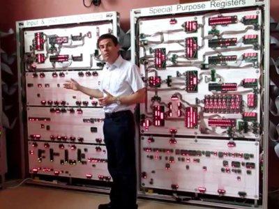 'Megaprocessor': el titánico procesador que sirve para conocer las entrañas de un CPU