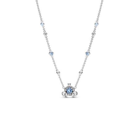 Pandora Collar Carroza De Calabaza De Disney En Plata De Primera Ley 119eur 1