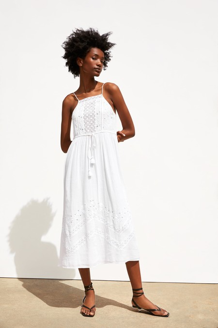 Zara Vestido Verano 2019 05