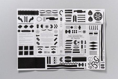 Libro geometría de la pasta - poster