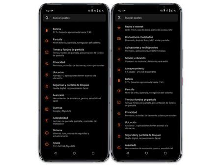 Asus Rog Phone 5 04 Ajustes