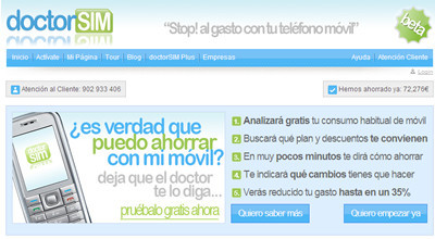 Doctor SIM para encontrar la mejor tarifa