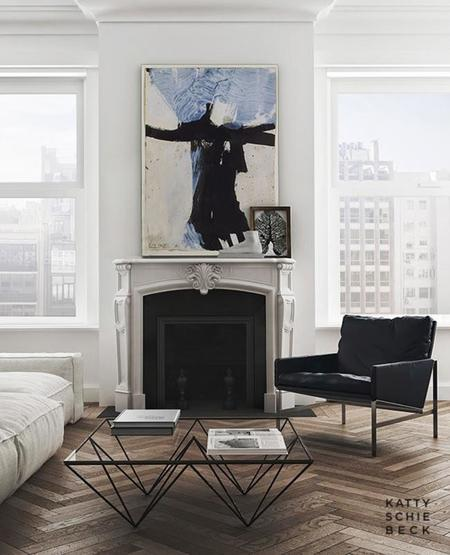 Apartamento en Pàsseig de Gràcia de Katty Schiebeck