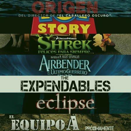 Los blockbusters que no debemos perdernos este verano de 2010