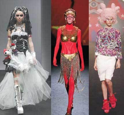 Semana de la Moda en Japón, sin palabras