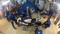 24h Le Mans 2012: un pit stop nocturno de cerca