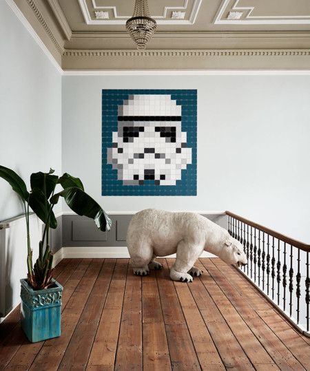Darth Vader, Storm Trooper o Chewbacca en tu pared con IXXI Star Wars Art