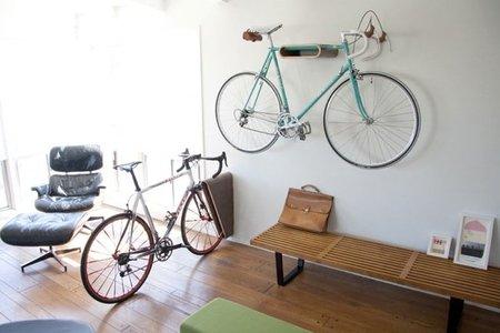 Dos buenas soluciones para colocar la bicicleta
