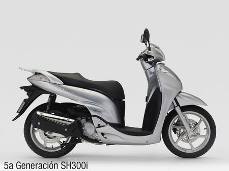Honda SH300i, quinta generación