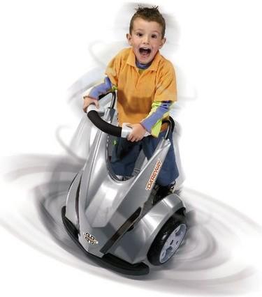 Dareway, vehículo futurista para niños motorizados