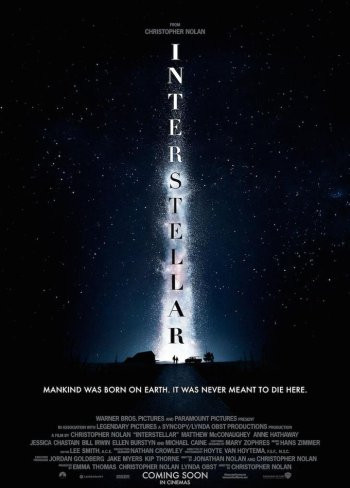 'Interstellar', cartel de la nueva película de Christopher Nolan
