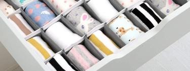 ¿Los cajones de la ropa interior se te resisten y en ellos reina siempre el caos? Te damos las claves para ordenarlos