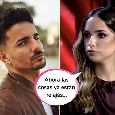 """A Lucía se le va la mano y desvela cómo está (de bien) su relación con Manuel tras 'La Última Tentación': """"Me vais a entender"""""""