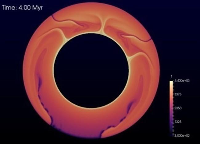 La tectónica de placas pudo haberse puesto en marcha gracias al impacto de meteoritos