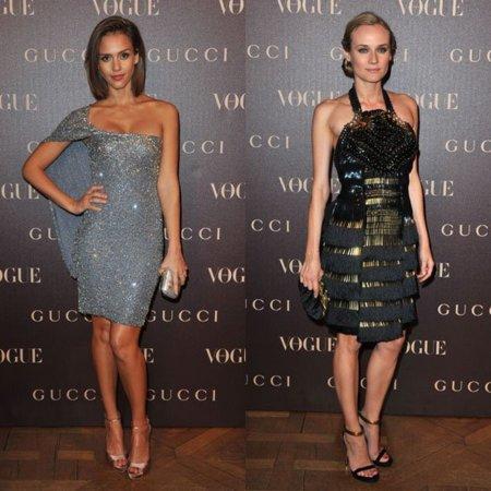 Las invitadas a la cena de Gucci en Paris