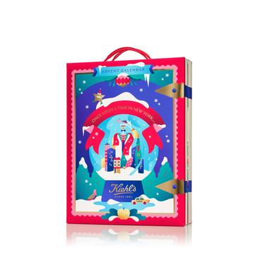 Por fin podemos hacernos con el precioso calendario de adviento de Kiehl's cargado de imprescindibles de la marca