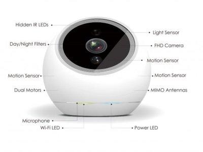 iCamPro, la pequeña cámara de vigilancia que no nos quita ojo