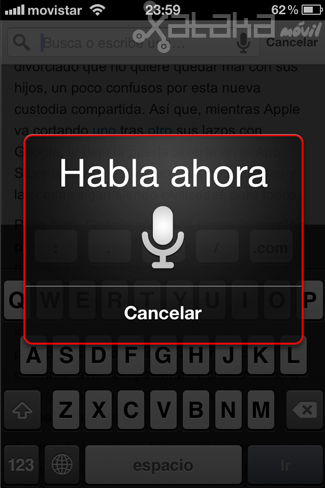 google chrome en ios lo probamos