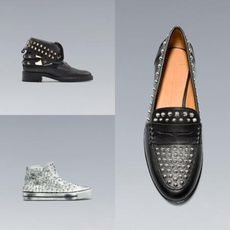 zapatos tachuelas