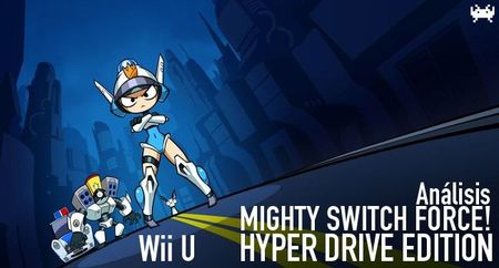 'Mighty Switch Force! Hyper Drive Edition' para Wii U: análisis