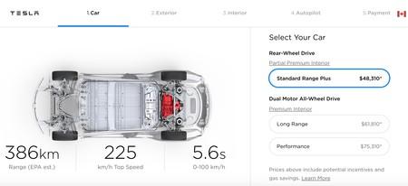 Tesla Model 3 Ca