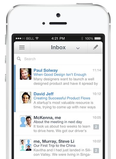 Seed Mail: otro cliente de correo para iPhone que trata los correos como tareas