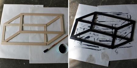 Una ilusión óptica para colgar - pintar