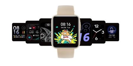 Xiaomi Mi Watch Lite: la versión básica del smartwatch de Xiaomi mantiene la medición de SpO2 y vuelve al diseño cuadrado