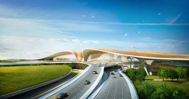 nuevo aeroperto de beijing