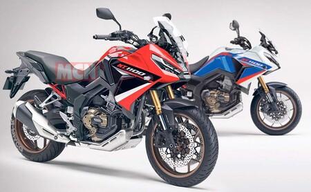 Honda NT1100: la nueva trail asfáltica del ala dorada utilizará el motor bicilíndrico de la Africa Twin con 101 CV