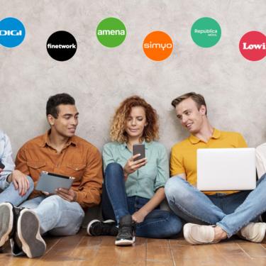 Digi agita el mercado de fibra y móvil baratos: comparativa con Lowi, MásMóvil, Amena, Virgin, Finetwork y otros low cost