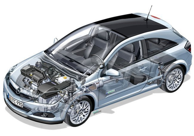 Opel Astra GTC Hybrid