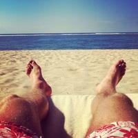 Las vacaciones de La Roja, ¿pero desde dónde twitteais?